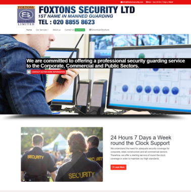 Foxtonssecurity